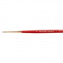 Winsor & Newton :Pinceau Spectre Gold: Série 101 : Rond : No 0