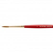 Winsor & Newton :Pinceau Spectre Gold: Série 101 : Rond : No 4