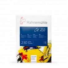 Hahnemuhle :Bloc de Papier : Peinture à l'Huile et Acrylique30x40cm : 230gsm : 10 Feuilles :Châssis Texturé