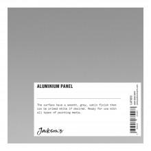 Jacksons :Panneau en Aluminium : Approx. 13x13cm : Testeur : 1 Par Client