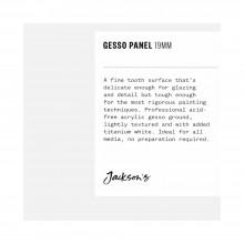 Jackson's :Panneau à Peinture Cracquelé en Plâtre Blanc de 19 mm: 4x4in