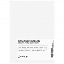 Jackson's : 3.2mm : Panneau en Lin Ultra Fin : 5x7in : Claessens 166 Surface à Moyen Grammage : Apprêt Universel : 415gsm