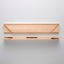 Jackson's : Museum Stretcher Bar Pair : 25x65mm : 140cm (55in Approx.) : With Notch