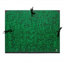 Clairefontaine :Pochette à Dessin Vert Marbré avec Ficelles : 61x76cm