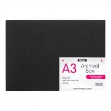 Mapac :Boite à Archives :  A3 : Noir