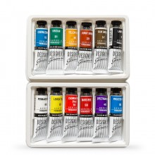 Daler Rowney : Designers' Gouache Paint : Lot d'Introduction