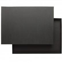 JAS :Boite de Rangement : Noir : 35mm de Profondeur : A3