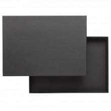 JAS : Black Storage Box : 35mm Deep : A4