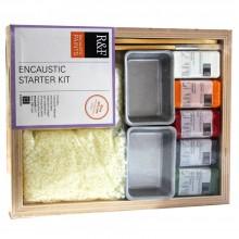 R & F encaustique (cire, peinture) Starter Kit