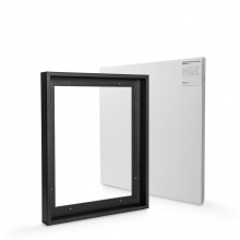 Jackson's : Ready Made Black Tray (Float) Frame and 40x50cm 38mm Canvas Set