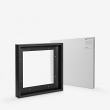 Jackson's : Ready Made Black Tray (Float) Frame and 30x30cm 38mm Canvas Set