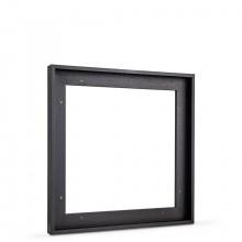 Jackson's :Plateau Noir (Flottant) : Cadre pour Chassîs : 40x40cm : 23mm Feuillure : Face 10mm