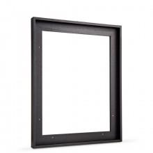 Jackson's :Plateau Noir (Flottant) : Cadre pour Chassîs : 40x50cm : 23mm Feuillure : Face 10mm