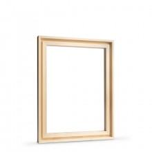 Jackson's :Chaux pour Cadre de Panneaux 30x40cm : 7mm de Feuillure : 9mm Recto