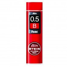 Pentel : Ain Stein : Mine de Rechange : 0.5mm : B