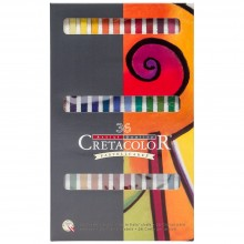 Cretacolor : Carre Pastel Dur : Lot de  36
