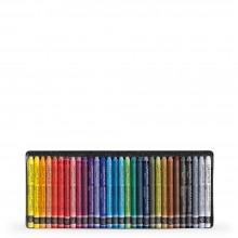 CARAN Dache NEOCOLOR II : Artistes aquarelle Crayons : 30 dans une boîte métallique