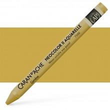 Caran d'Ache : Neocolor II : Crayon Aquarelle: Gold