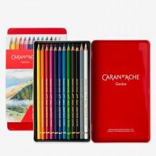 Caran d'Ache : Pablo Crayons de Couleurs: Lot de 12