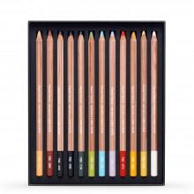 Caran d'Ache : Crayon Pastel : Lot de 12