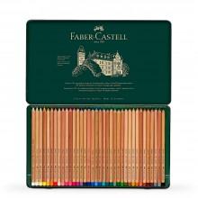 Faber Castell : Pitt Crayon Pastel : Boîte en Métal de 36