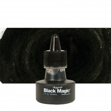 Higgins : Pigmented Ink : Waterproof : 1oz (29.6ml) : Black Magic
