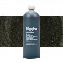 Higgins : Pigmented Ink : Waterproof : 32oz (947.2ml) : Black India