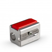 KUM : 425E Double Hole Metal Pencil Sharpener : With 2 Spare Blades