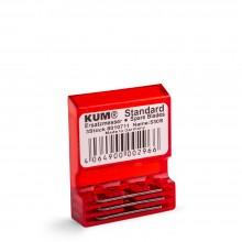 KUM : Taille-Crayon Lames Séparées : Lot de 3