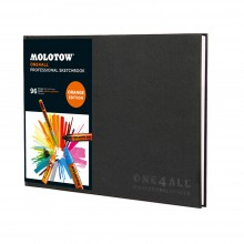 Molotow : One4All Professional : Cahier de Croquis: 150gsm : 96 Pages : A4 : Paysage