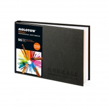 Molotow : One4All Professional : Cahier de Croquis: 150gsm : 96 Pages : A5 : Paysage
