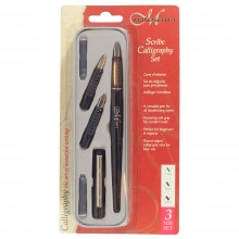 Manuscript :Scribe Lot de Calligraphie : 3 Pointes : 1.5mm, 2.3mm & 2.7mm
