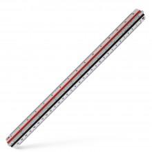 Aristo : Geo College : Triple Edged Scale Ruler : 30cm