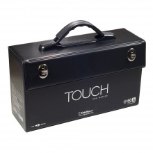 ShinHan : Empty Touch Twin : Boite Stylo Marqueurs : Capacité 60 [A] (Stylo Marqueurs Excluent)
