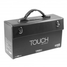 ShinHan : Empty Touch Twin : Boite Stylo Marqueurs : Capacité 60 [B] (Stylo Marqueurs Excluent)