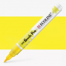 Royal Talens : Ecoline : Stylo Pinceau Aquarelle: Lemon Yellow