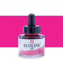 Talens : Ecoline : Liquid Watercolour Ink : 30ml : Light Rose