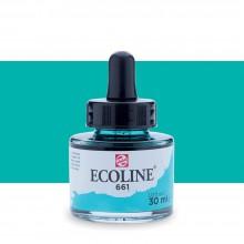 Royal Talens : Ecoline : Encre Liquide Aquarelle : 30ml : Turquoise Green