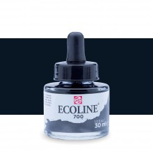 Royal Talens : Ecoline : Encre Liquide Aquarelle : 30ml : Black