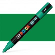 Uni :Posca Marqueur : PC-5M : Pointe Moyenne Arrondie  : 1.8 - 2.5mm: Green
