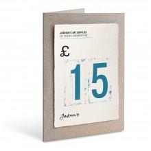 Jackson's : Carte Cadeau : £15