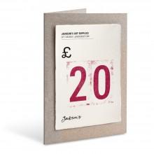 Jackson's : Carte Cadeau : £20