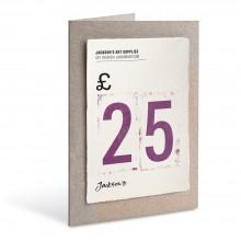 Jackson's : Carte Cadeau : £25