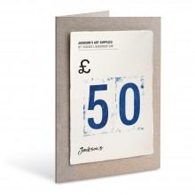 Jackson's : Carte Cadeau : £50