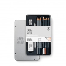 Winsor & Newton :Studio Collection : Médium Crayon Graphite : Lot de 12