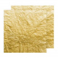 Manetti : 23ct Feuille D'Or Volante : 80 x 80mm Extra Thick 16g