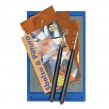 CWR :Kit d'Outils en Métal pour Gravure (15pc)