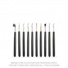 CWR :10 Assortiments d'Outils pour Estampage et Gravure