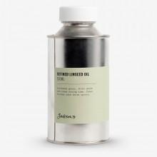 Jacksons huile moyenne : Raffiné l'huile de lin 500ml - artiste ' alcali s raffiné