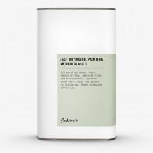 Jackson's :Médium Peinture à l'Huile Séchage Rapide : Brillant : 1 litre : Expédition par Voie Terrestre
